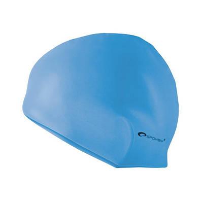 Шапочка для плавания Spokey Summer Голубая (s0582)