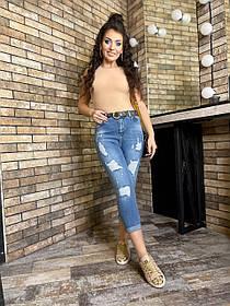 Джинсы женские Большого размера, Женские джинсы батал