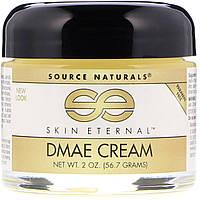 Крем для лица, Source Naturals, с DMAE, (56,7г)