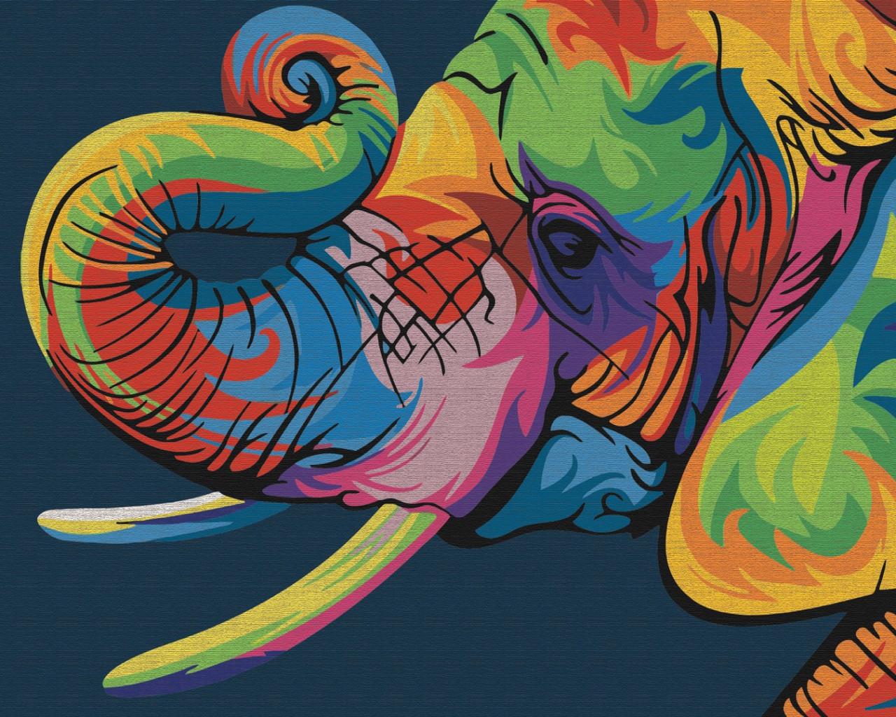 Райдужний слон