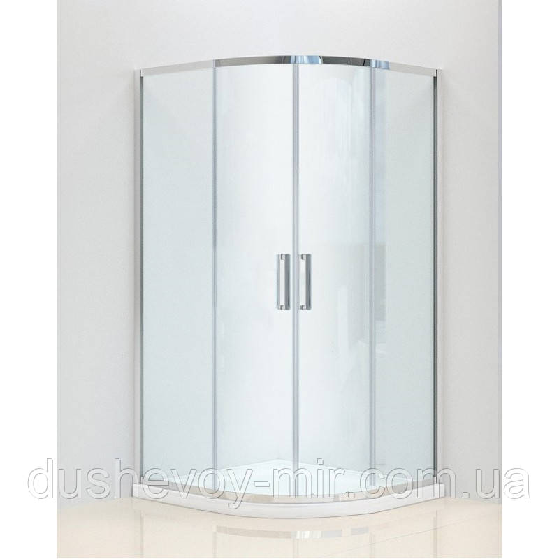 Душевая кабина Dusel А-511, 1000х1000х1900 прозрачное стекло
