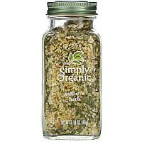 Simply Organic, Чеснок и травы, 3,10 унции (88 г)