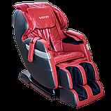 Массажное кресло ZENET ZET 1530 Вишневое, фото 6
