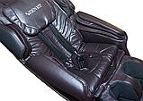 Масажне крісло ZENET ZET 1550 Коричневе, фото 5