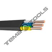 Силовой медный кабель ВВГ-П нг 3x1.5 мм²