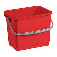 Ведро для уборки с ручкой 4л TTS (3361 (красный) x 2198)