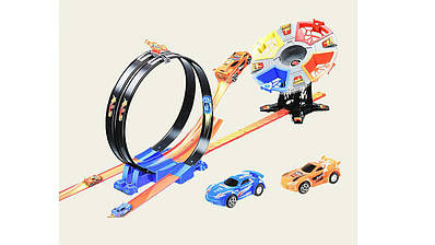 Трек инерционный двухполосный Racing (68828)