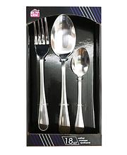 Набор столовых приборов Family-3 18 предметов (6 вилок, 6 ложек, 6 десертных ложек)