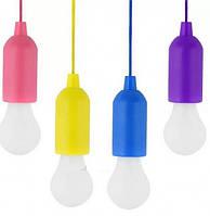 Світлодіодна Лампочка на шнурку X-Balog BL-15418 (мікс кольорів)