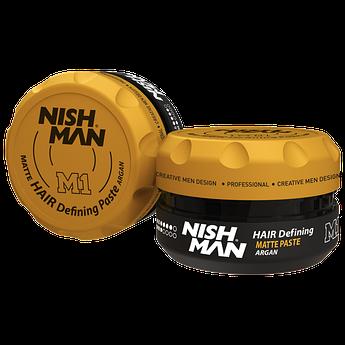 Паста для укладки волос Nishman Hair Defining Matte Paste M1 100мл
