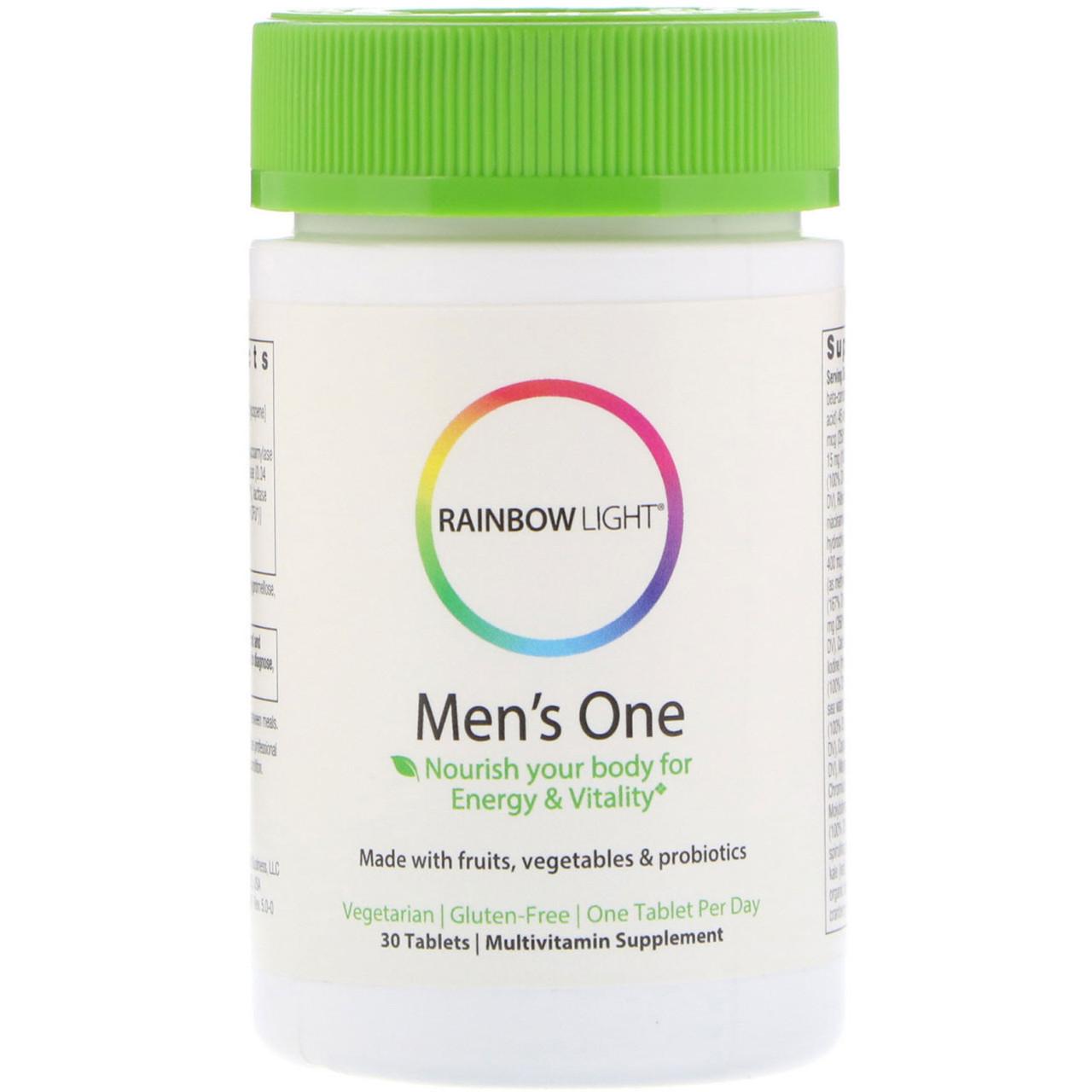 Комплексні вітаміни для чоловіків, 30 таблеток, Rainbow Light
