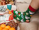 """Высокие носки унисекс от Sammy Icon """"Новый год 2021"""", фото 2"""
