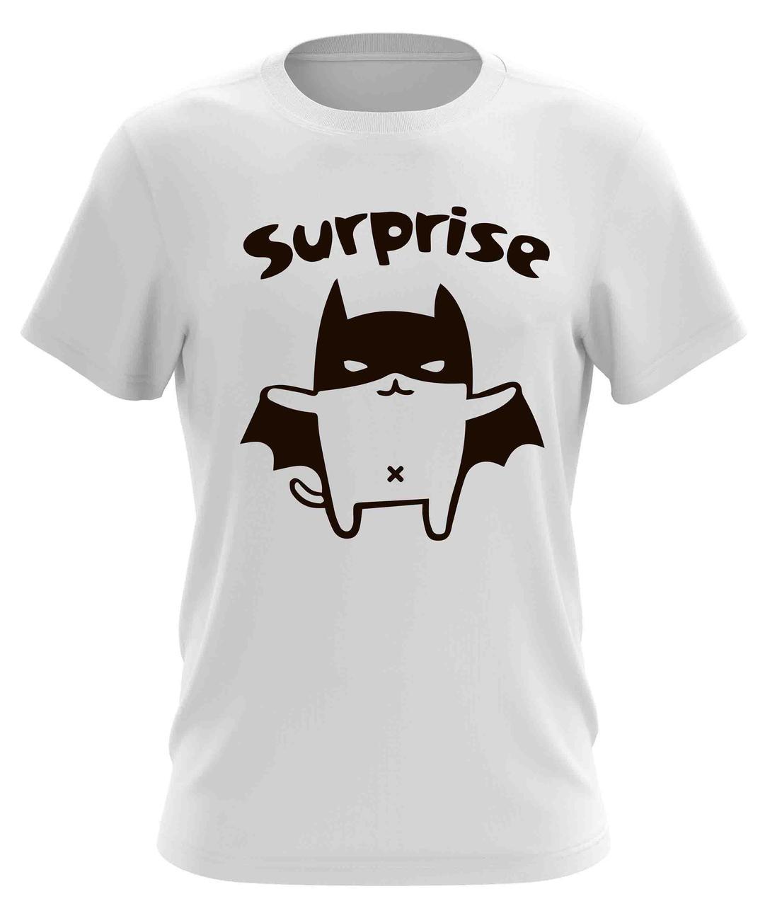 """Оригинальная мужская футболка  """"Surprise"""""""