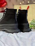 Стильні жіночі черевики ALEXANDER MCQUEEN Tread Slick Черевики (ВЕСНА/ОСІНЬ), фото 6