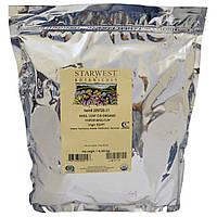 Starwest Botanicals, Лист базилика Basil Leaf, C/S органический, 1 фунт