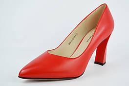 Туфли лодочки Lady Marcia 68002 40 Красные кожа