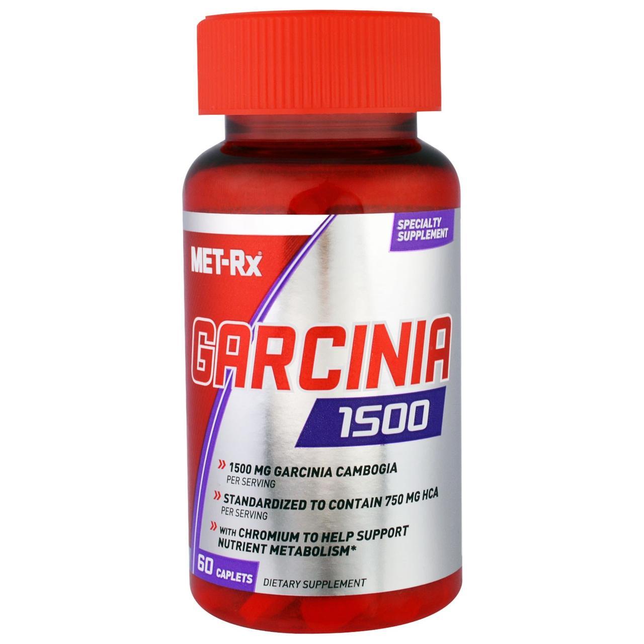 MET-Rx, Гарциния 1500, 60 капсул