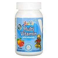 Мультивитаминно-минеральный комплекс для детей, Multivitamin Complete + Mineral Formula, Yum-V's, 60 штук