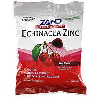 Цинк с эхинацеей, Zand, вишневый вкус, 15 леденцов