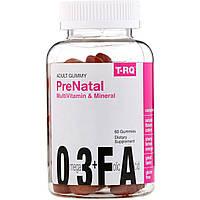 T.RQ, Мультивитамины & минералы для беременных, Жевательные таблетки для взрослых, Вишня, Лимон, Апельсин, 60 жевательных таблеток