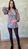 Блуза для беременных с запахом 7432-1