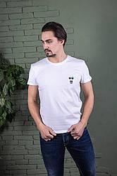 Однотонна футболка прилеглого силуету Karl (кольори в асортименті)