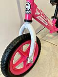 Біговел Corso на 12 дюймів велобіг від Корсо, Рожевий, фото 3