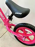 Біговел Corso на 12 дюймів велобіг від Корсо, Рожевий, фото 2