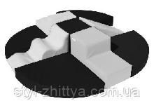 Модульный набор Девятка ЧБ Kidigo (440101)