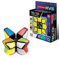 Головоломка логика Кубик Рубика плюс спинер.