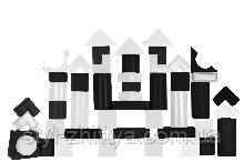 Конструктор Строитель 1 ЧБ Kidigo (410021)