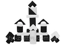 Конструктор Строитель 2 мини ЧБ Kidigo (410112)