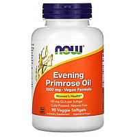 Now Foods, Evening Primrose Oil, 1000 mg, 90 Veggie Softgels