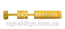 Счеты пластиковые (желтый) Kidigo (170617)