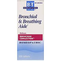 Boericke & Tafel, Помощь при бронхите и астме, 100 таблеток, фото 1