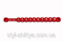 Счеты пластиковые (красный) Kidigo (170619)