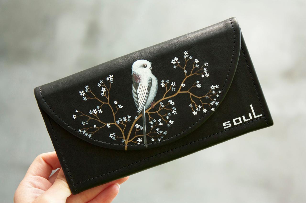 Шкіряний жіночий гаманець