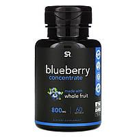 Sports Research, Концентрат Голубики, 800 мг, 60 Желатиновых капсул