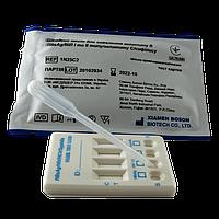 Експрес-тест для діагностики гепатиту В (HBsAg), ВІЛ і та ІІ типу, гепатиту С, сифілісу (тест-картка)