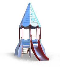 Детский комплекс Ракета (горка 1,2 м) Kidigo