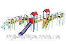 Дитячий комплекс Змійка, висота гірки 1,5 м Kidigo (11234)