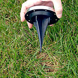 Набор 4 шт солнечные уличные светильники Solar Disk Lights, фото 3