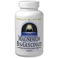 Source Naturals, Магний Бис-глицината 120 таблеток