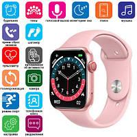 Смарт часы Smart Watch NK03, голосовой вызов, IP67, pink