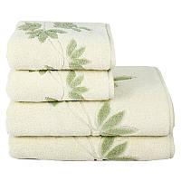 Полотенце махровое Maisonette Solvron зеленое 50х90 см