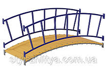 Арочный мостик + перила арочного моста Kidigo (55004)