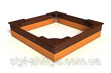 Пісочниця Стандарт 1,5х1,5 м Kidigo (125122)