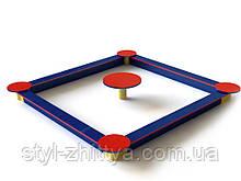 Пісочниця зі столиком 2 м Kidigo (125093)