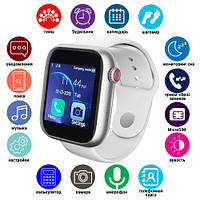 Смарт часы Smart Watch Z6 c Sim + камера, white