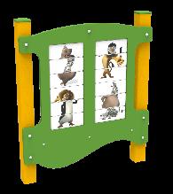 Игровая панель Животные Kidigo (12634)
